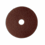 3M ROUND PAD FOR SCRUBBING BROWN 432mm X unit